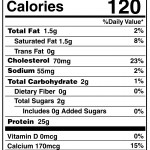 SC-Any Time Grass-Fed-NUTRITION FACTS
